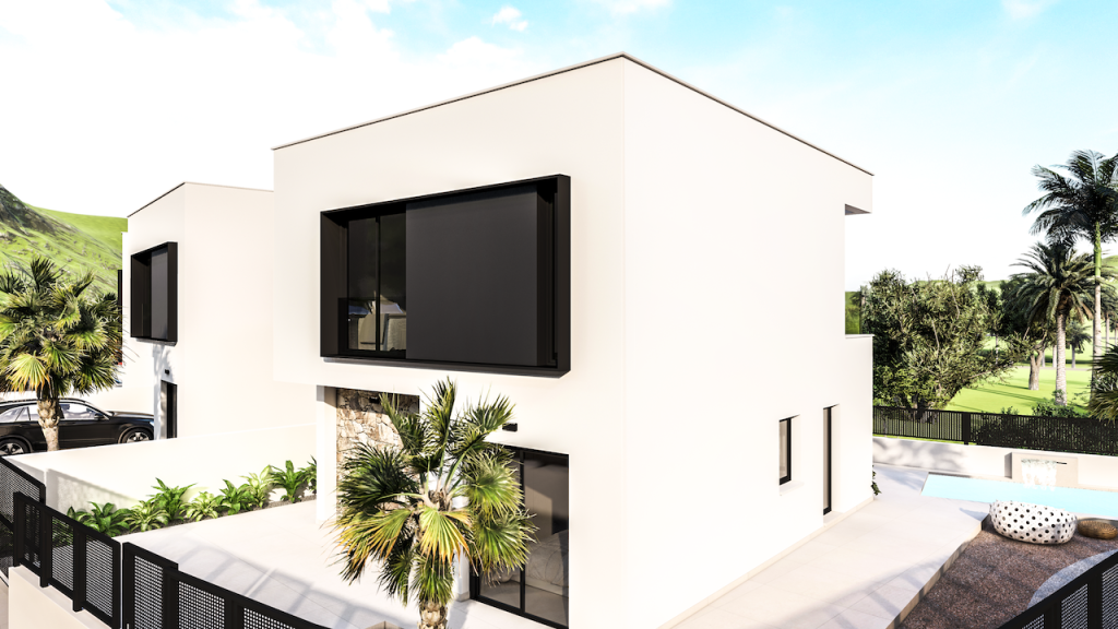 New 3 Bedroom Villas With Pools in Aguilas, Murcia, From €245,000