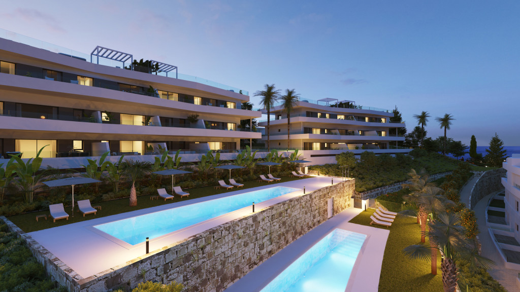 New 2, 3 & 4 Bedroom Apartments in Estepona, Malaga, Spain, From €198,000
