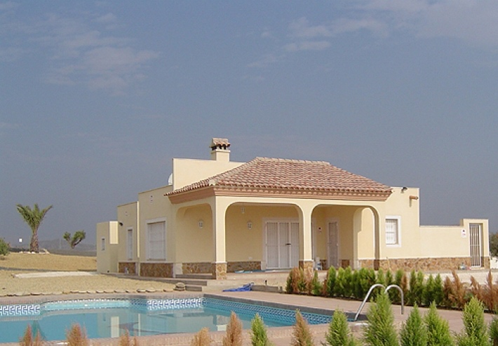 New 4 Bedroom Detached Villa with Private Pool in Vera Playa, Almeria, Spain, From €241,597