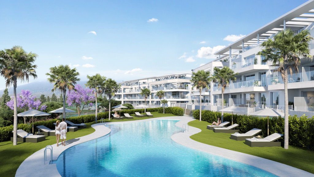New 2, 3 & 4 Bedroom Apartments in Mijas, Malaga, Spain, From €245,000