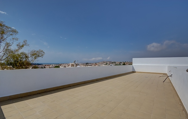 3 Bedroom Apartment with roof terrace in Palomares, Almeria, Spain, €82,000