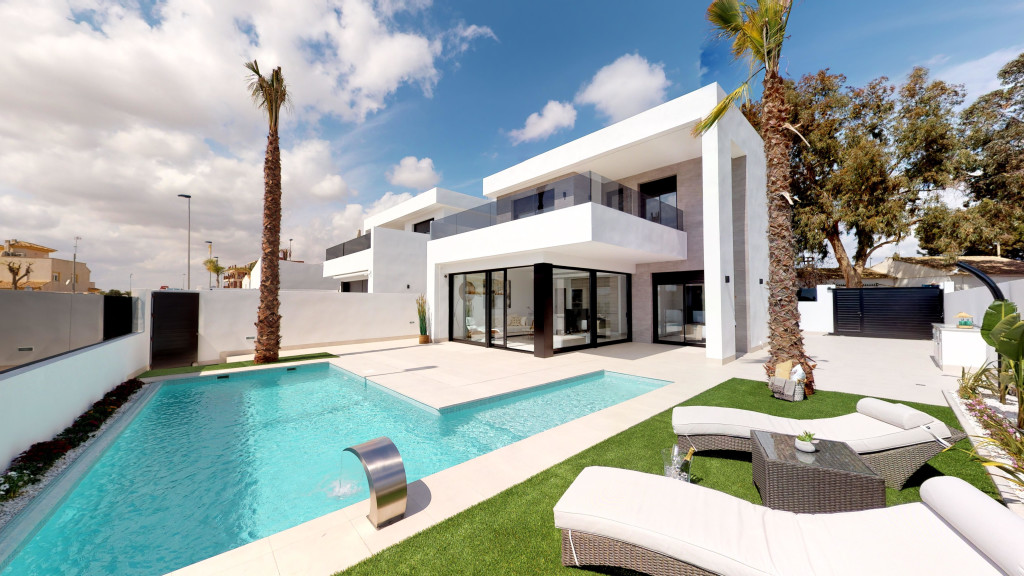 New 3 Bedroom Villas with Pool in Sucina, Murcia, Spain, From €289,950