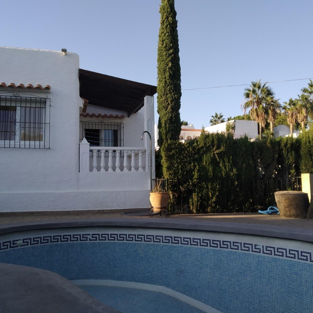 3 Bedroom Detached Bungalow with Private Pool in Mojacar Playa, Almeria, Spain, €395,000