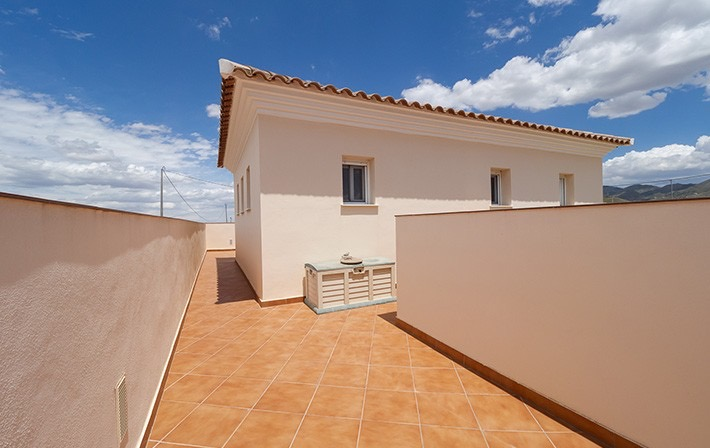 Detached 3 Bedroom Villa with Private Pool in Aguaderas, Lorca, Costa Calida. €299,000