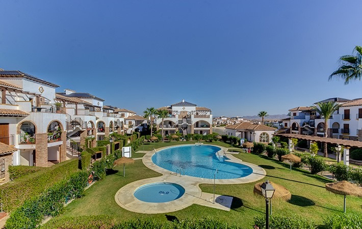 Furnished 2 Bedroom 2 Bathroom Apartment in Al Andalus Residencial, Vera Playa, €115,000